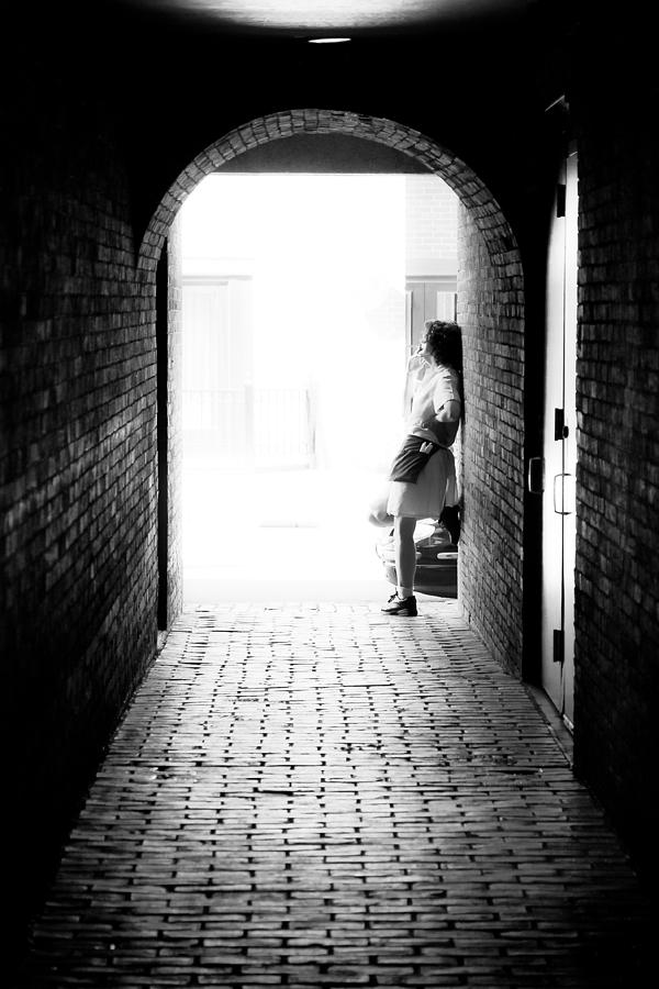 Smoke Photograph - Smoke Break by Edward Myers