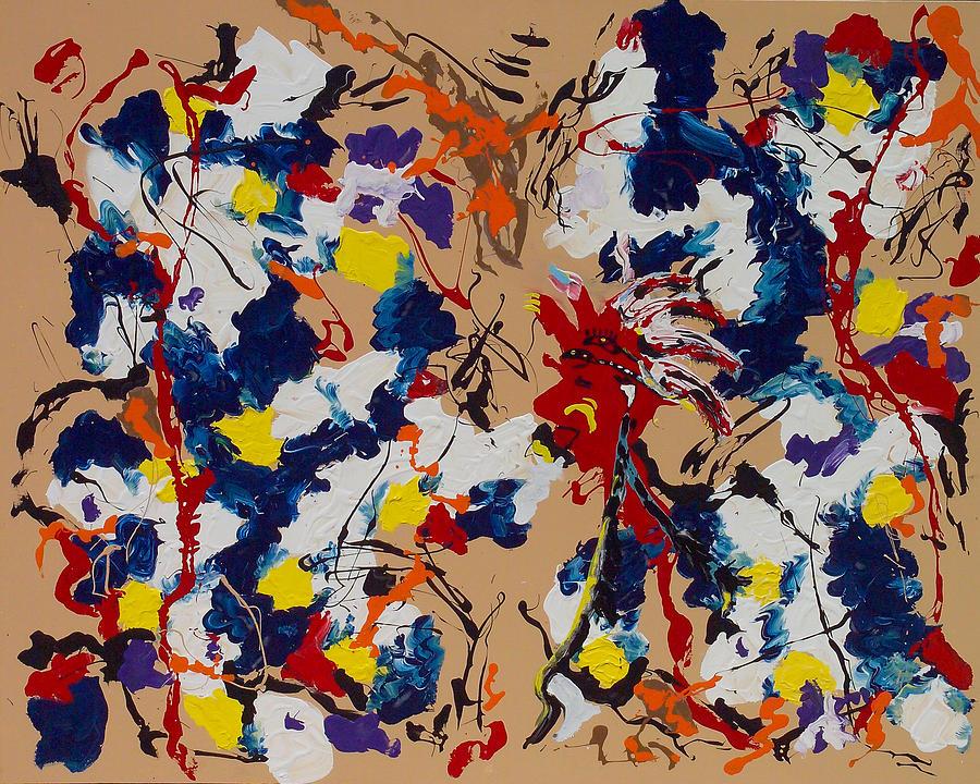 Paintings Painting - Smoke Signals by Wayne Salvatore