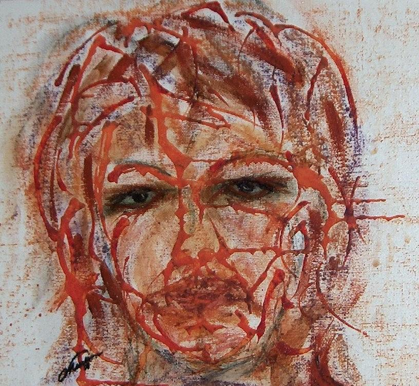 Eyes Painting - Smokey Eyes by Cathy Minerva