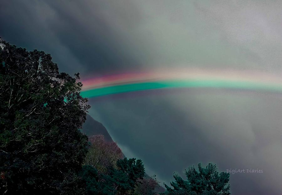 Rainbow Photograph - Smokey Mountain Majesty by DigiArt Diaries by Vicky B Fuller