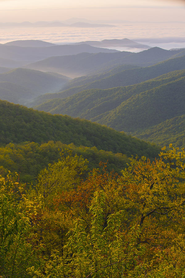 Mountains Photograph - Smokey Mountains by Keith May