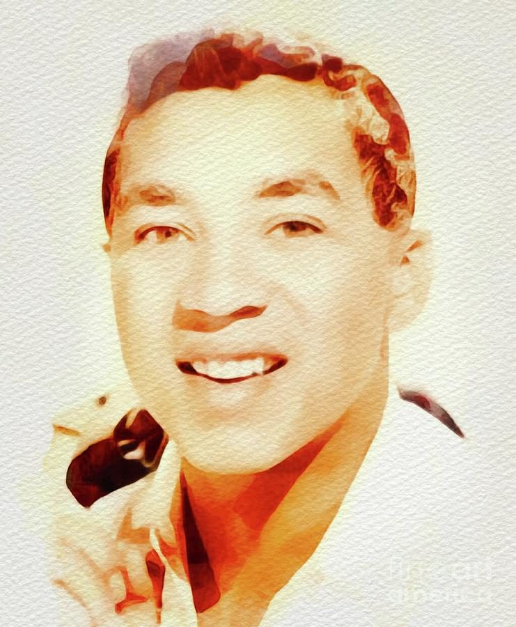 Smokey Robinson, Music Legend Painting