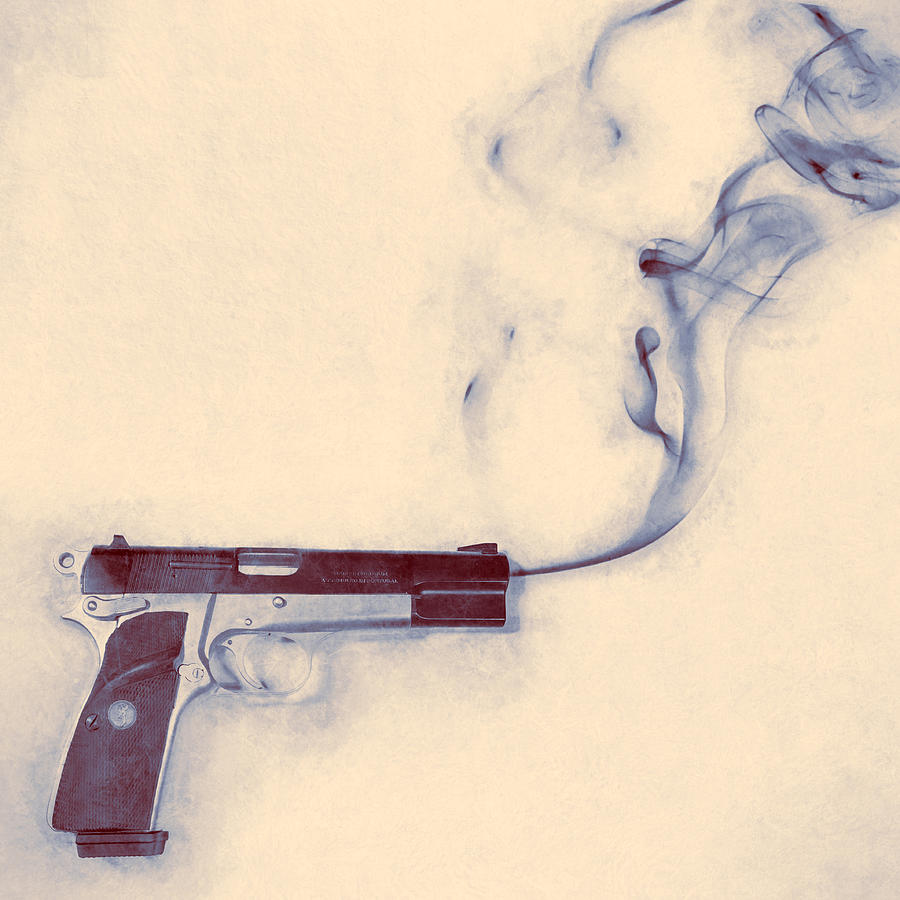 Smoking Gun Photograph