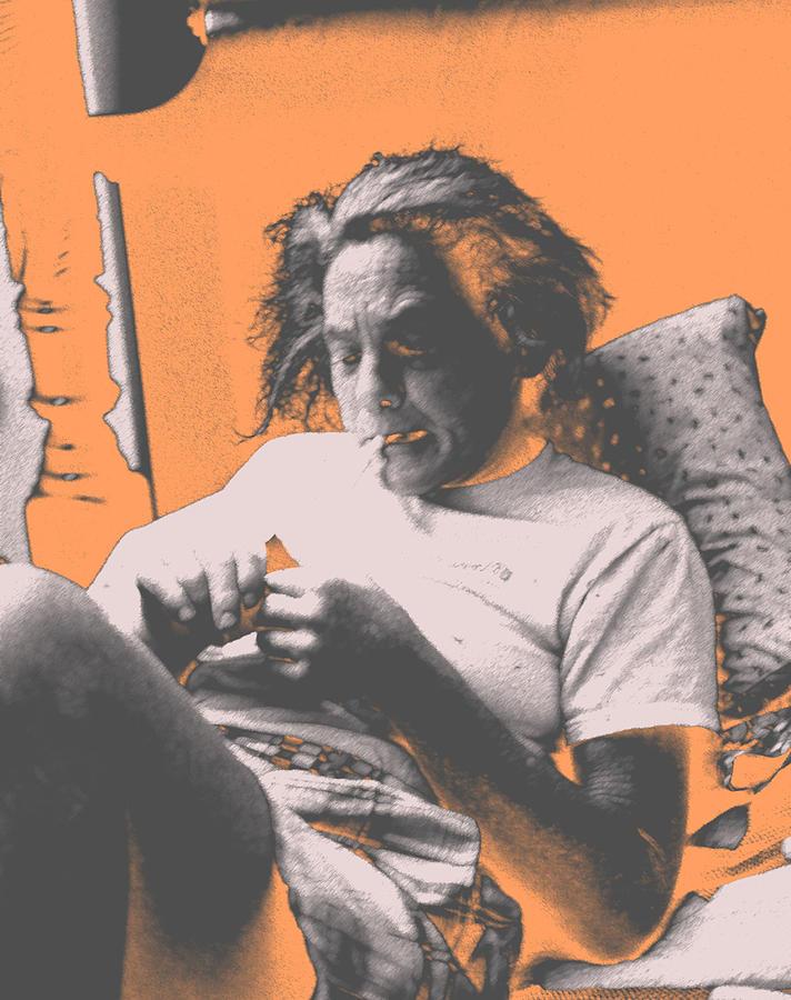 Drugs Photograph - Smoking Hard Coke by John Toxey
