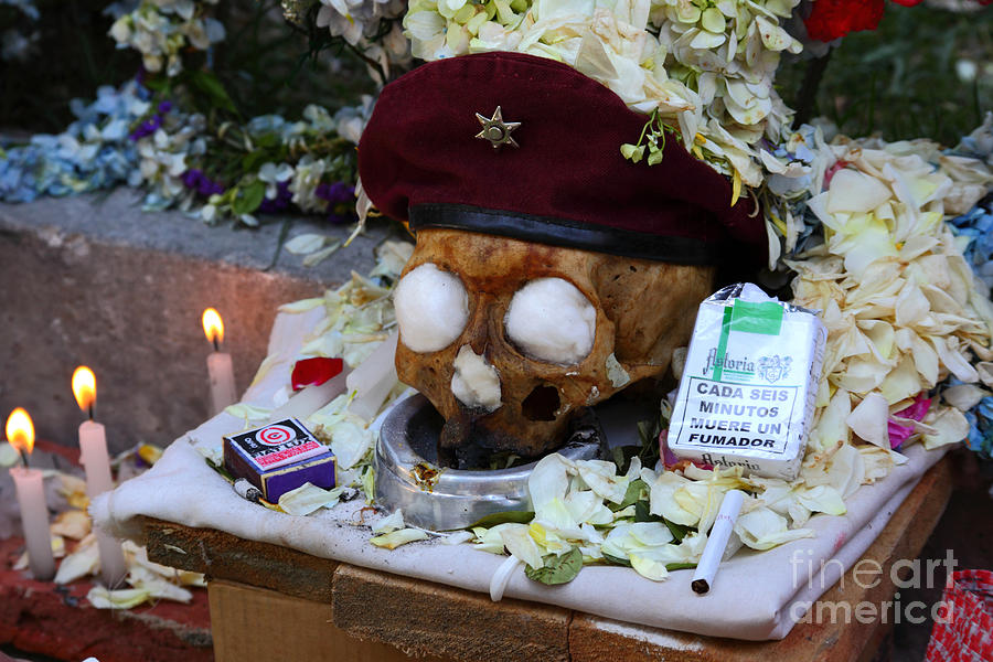 Skull Photograph - Smoking Kills.... by James Brunker
