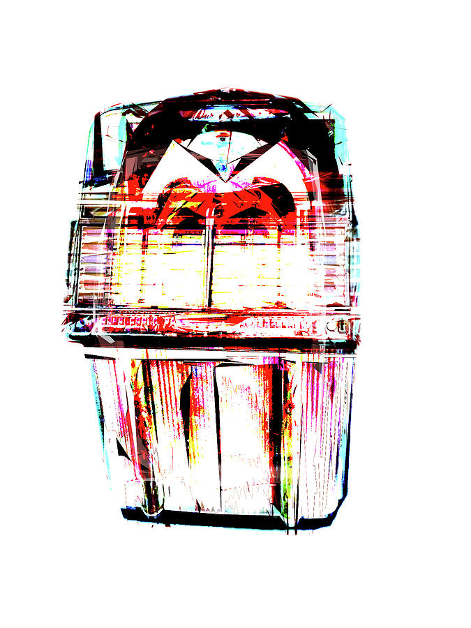 Digital Digital Art - Smoking Out the Jukebox by Poster Book