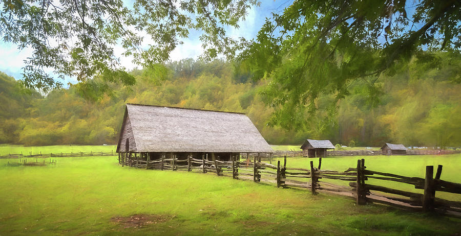 Smoky Mountain Barn by Tim Stanley