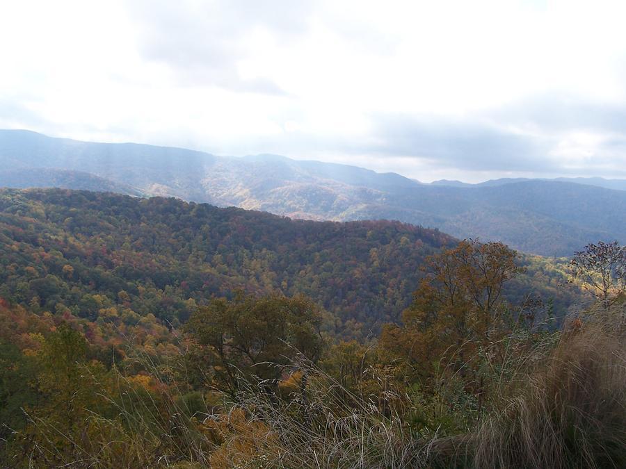 Smoky Mountains Photograph - Smoky Mountain Fall by Marie Morris