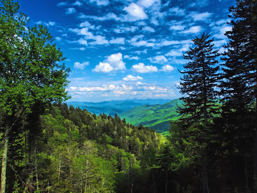 Smoky Mountain Majesty  by Don Keisling