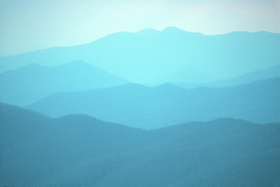 National Park Photograph - Smoky Mountain Mist by John Burk
