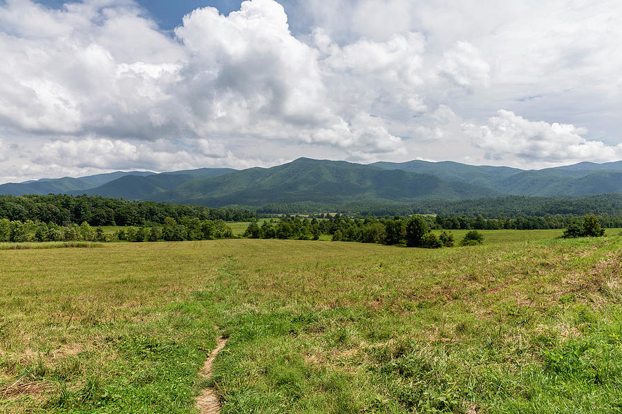 Mountains Photograph - Smoky Mountains Cades Cove 1 by John Brueske
