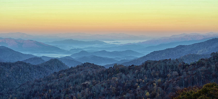 Smoky Mountains by Nancy Landry