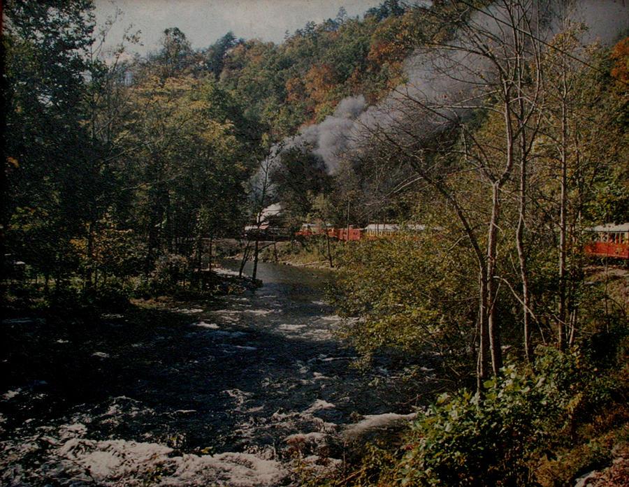 Smoky Mountains Photograph - Smoky Mountains Rail Road by Joseph G Holland