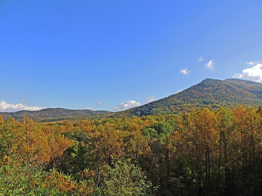 Smoky Mountains Photograph - Smoky Mountains Scenery 9 by Marian Bell