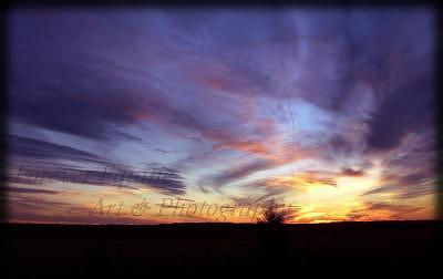 Smoldering Sky Photograph by Tanya McFarland