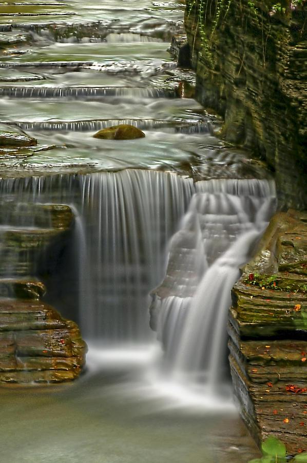 Waterfall Photograph - Smooth by Evelina Kremsdorf