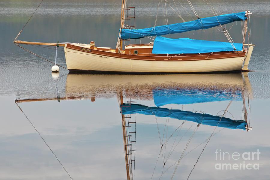 Water Photograph - Smooth Sailing by Werner Padarin