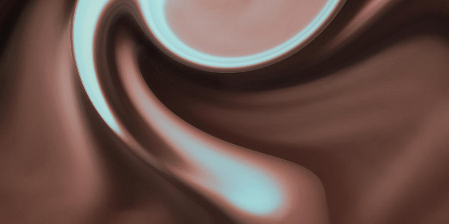 Material Photograph - smooth Unfolding by Dean Uhlinger