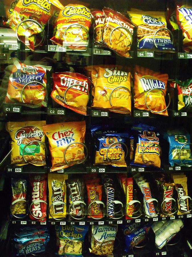 Snack Photograph - Snack Attack by Anna Villarreal Garbis