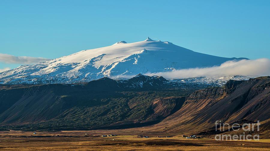 Snaefellsjokull Volcano 2 Iceland Photograph