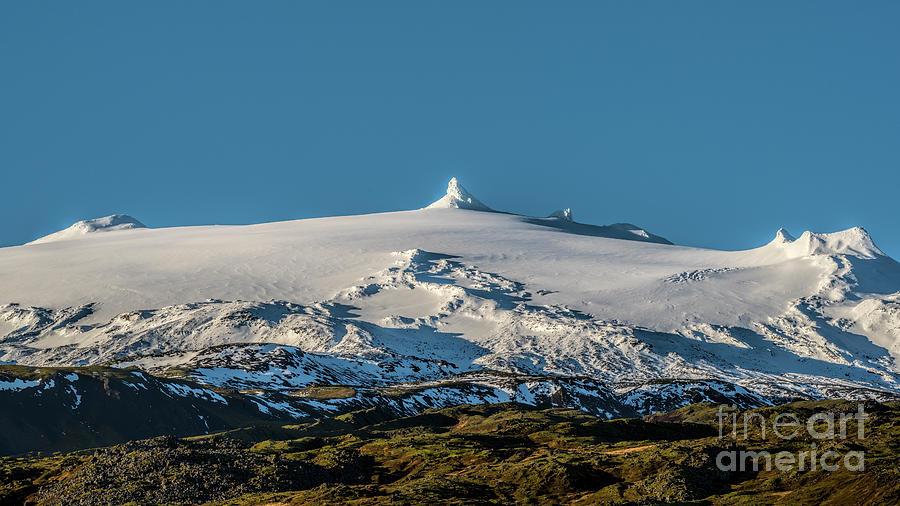 Snaefellsjokull Volcano 3 Iceland Photograph