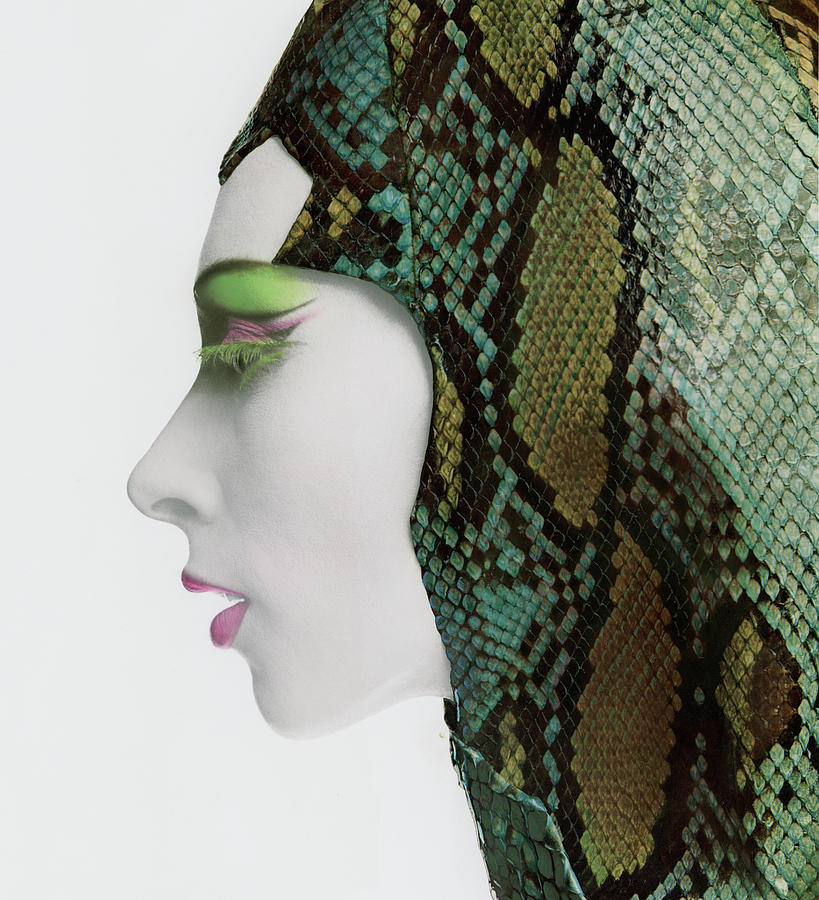 Snake Eyes Photograph by Bert Stern