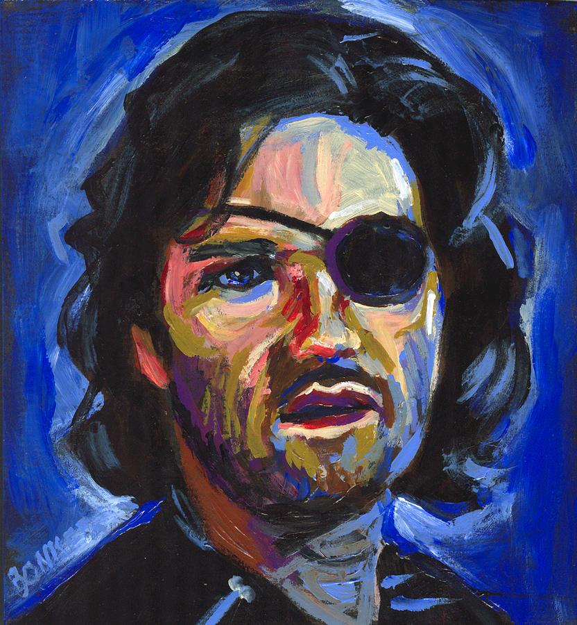 Kurt Russell Painting - Snake Plissken by Buffalo Bonker