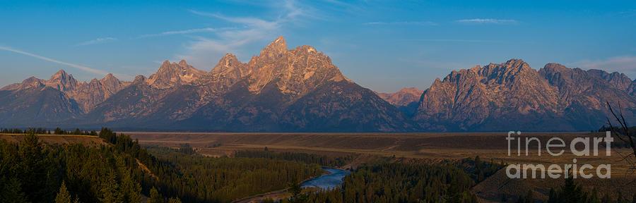 Snake River Sunrise Panorama Photograph