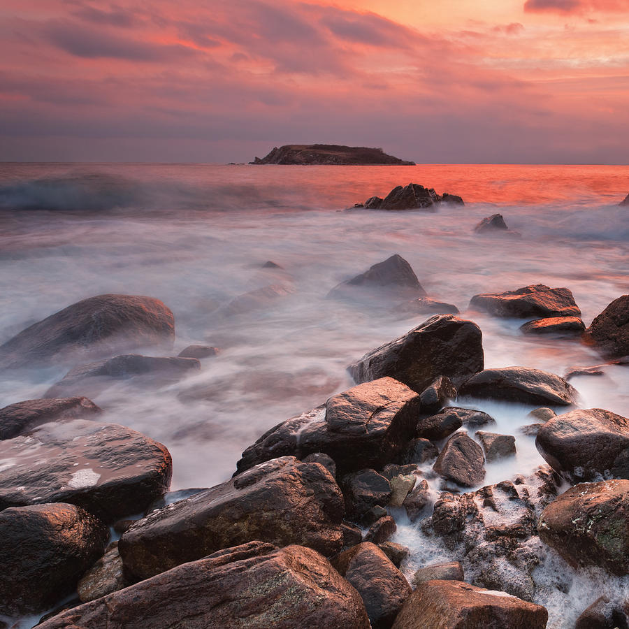 Dawn Photograph - Snakes Island by Evgeni Dinev