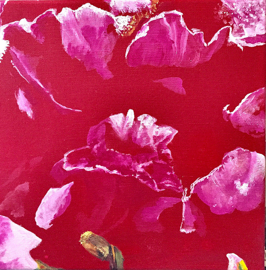 Snapdragon Painting - Snap by Dana Patterson