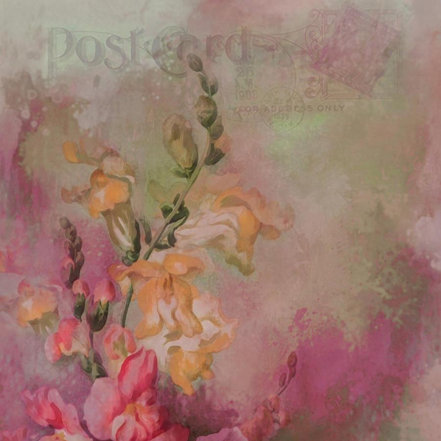Flower Digital Art - Snapdragon by Jeff Burgess