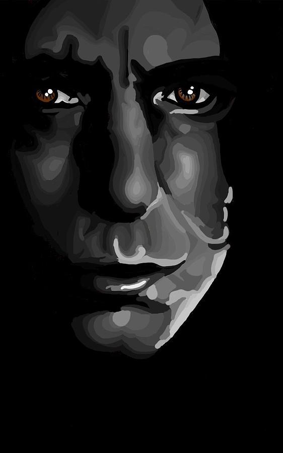 Severus Digital Art - Snape by Lisa Leeman