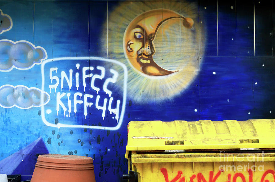 Garbage Cans Photograph - Snif Kiff by John Rizzuto