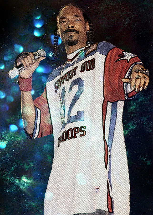 Charcoal Photograph - Snoop Dogg by Ericamaxine Price