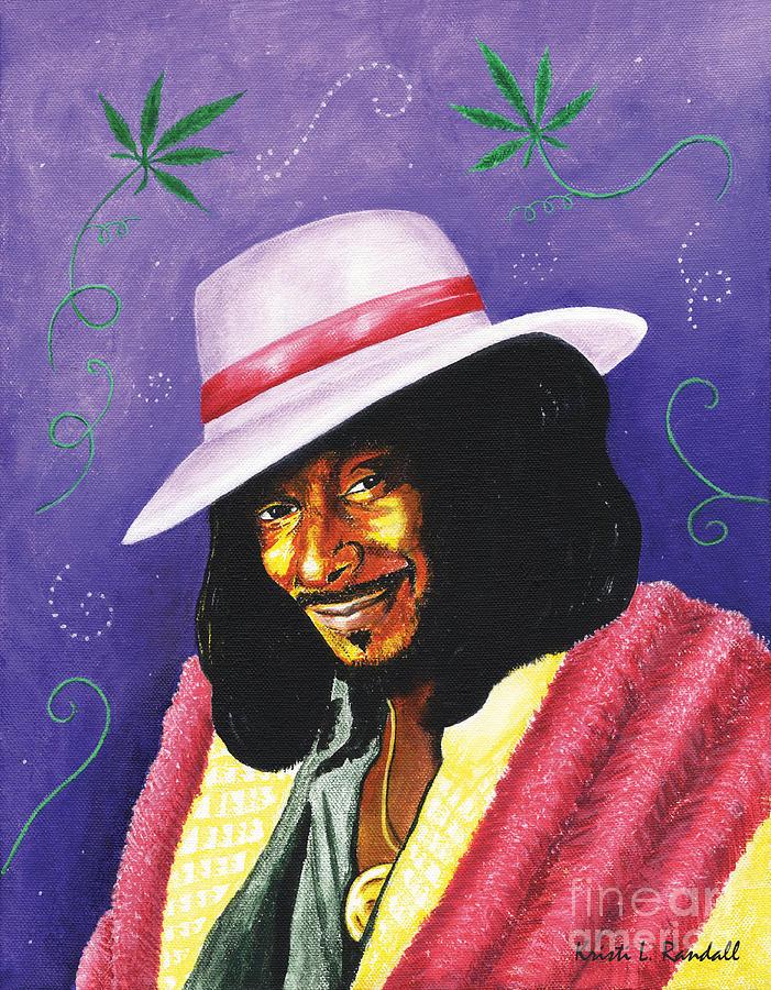 Fun Painting - Snoop Dogg by Kristi L Randall