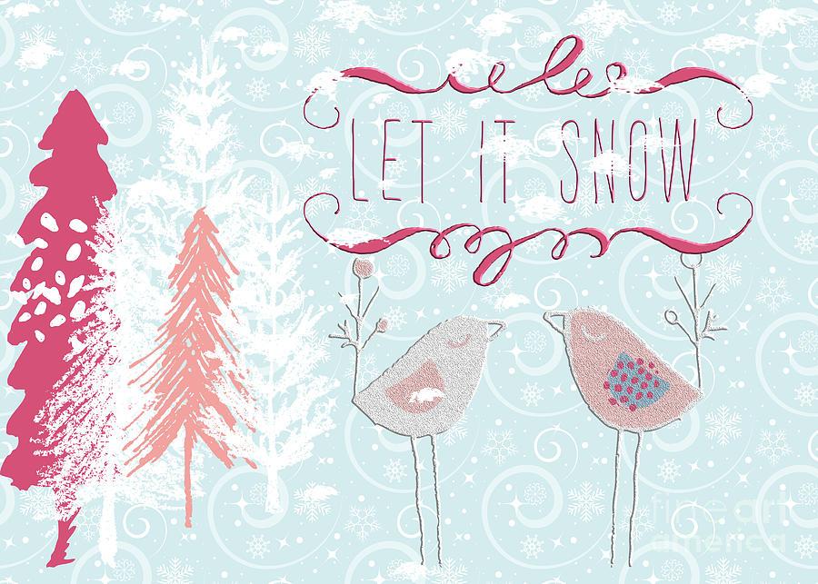 Snow Birds by Pam  Holdsworth