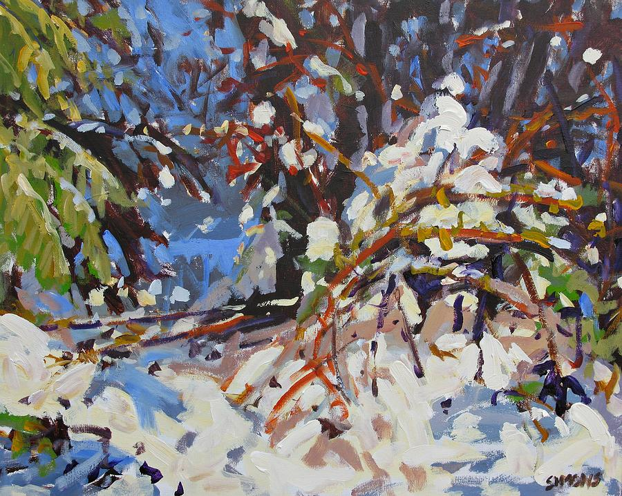 Winter Painting - Snow Bound by Brian Simons