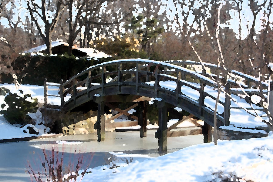 Snow Bridge by Rodger Mansfield