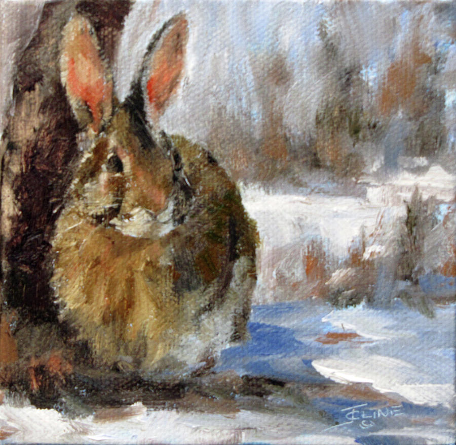 Painting Rabbits In Acrylic