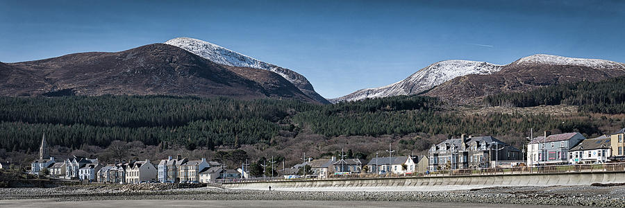 Snow Capped Mourne Mountains Photograph