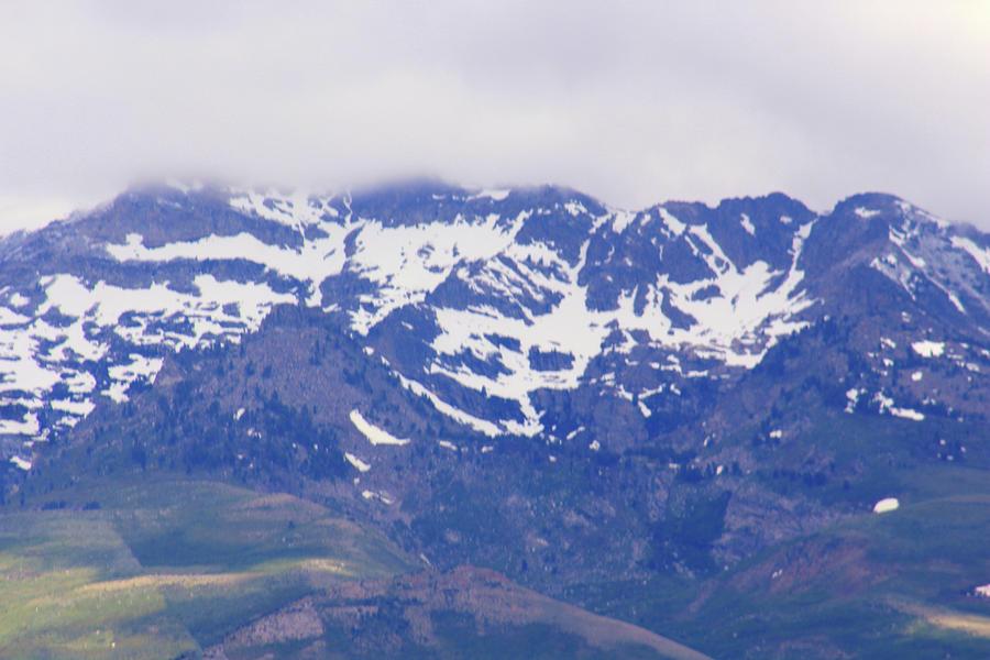 Snow Capped Peaks by Jodi Vetter