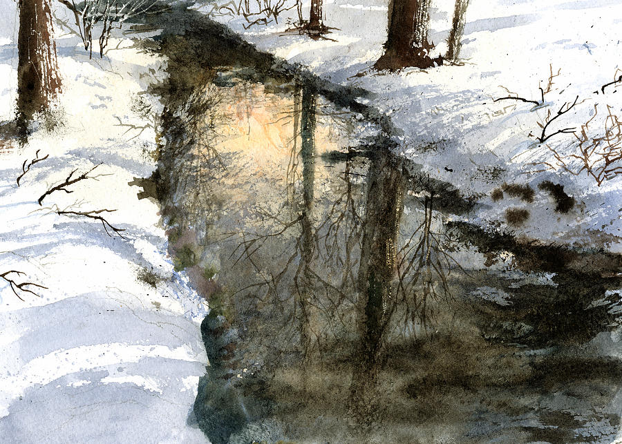 Snow Creek by Andrew King