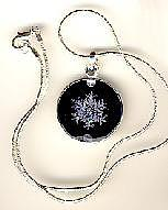 Necklace Photograph - Snow Crystal Necklace by Cella Neapolitan