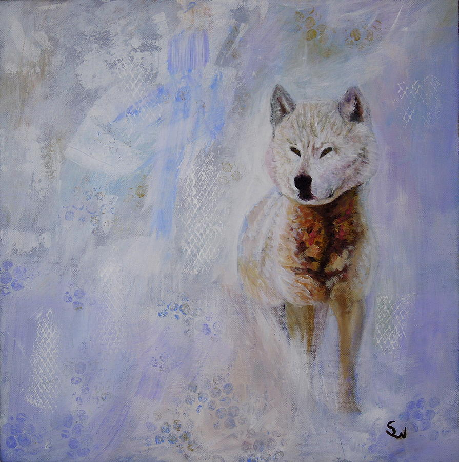 Snow Fox by Shirley Wellstead