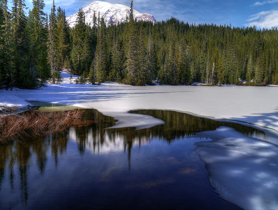 Snow-melt Revelations by Peter Mooyman