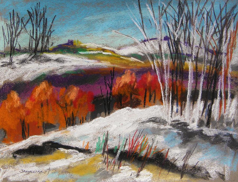 Snow Painting - Snow On The Hills by John Williams