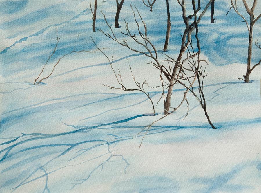 Snow Shadows by Heidi E Nelson