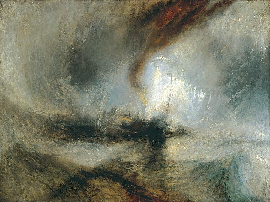 Snow Storm by Joseph Mallord William Turner