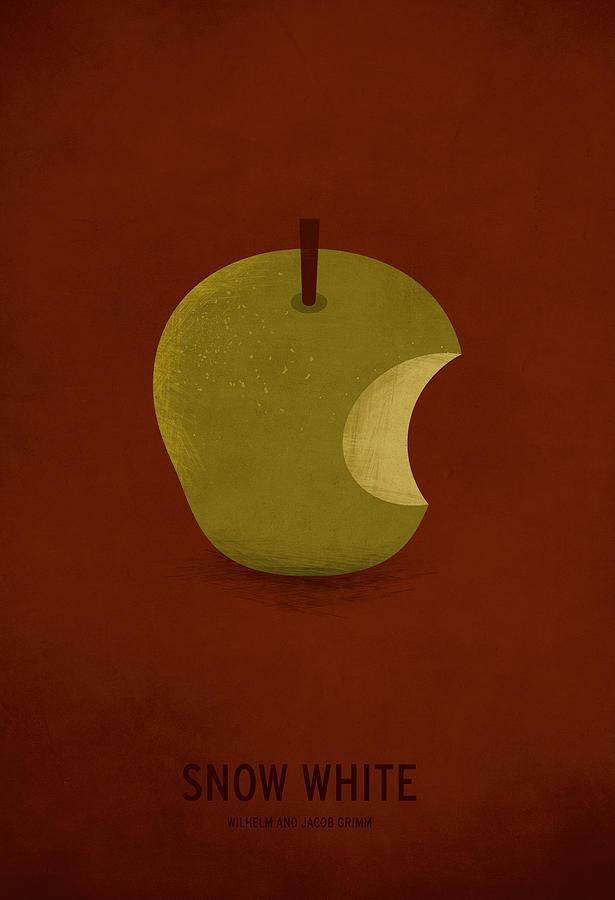 Snow White Digital Art by Christian Jackson