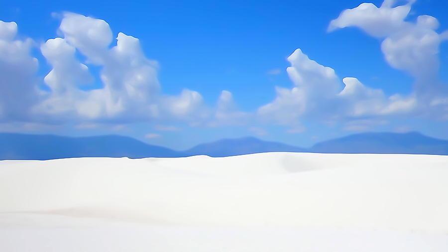 Snow White Sand by Greg Hammond